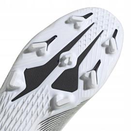 Buty piłkarskie adidas X GHOSTED.3 Ll Fg EG8165 białe białe 5