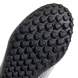 Buty piłkarskie adidas X GHOSTED.4 Tf FW6789 białe białe 5