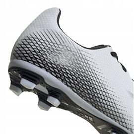 Buty piłkarskie adidas X GHOSTED.4 FxG FW6783 białe białe 4