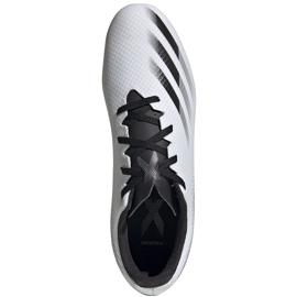 Buty piłkarskie adidas X GHOSTED.4 FxG FW6783 białe białe 1