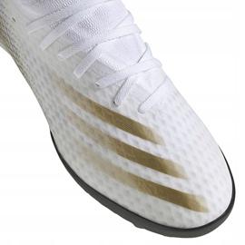 Buty piłkarskie adidas X GHOSTED.3 Tf EG8199 białe białe 3