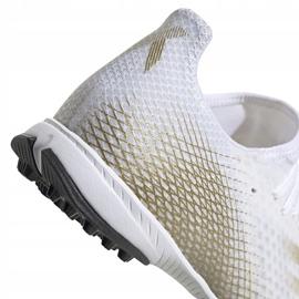 Buty piłkarskie adidas X GHOSTED.3 Tf EG8199 białe białe 4