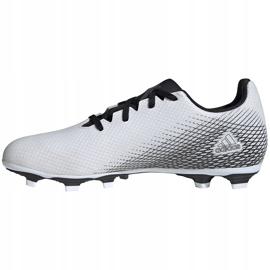 Buty piłkarskie adidas X GHOSTED.4 FxG FW6783 białe białe 2