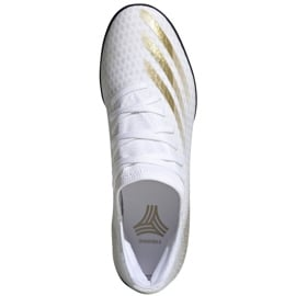 Buty piłkarskie adidas X GHOSTED.3 Tf EG8199 białe białe 1