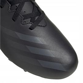Buty piłkarskie adidas X GHOSTED.4 FxG Junior FW3546 czarne czarne 3