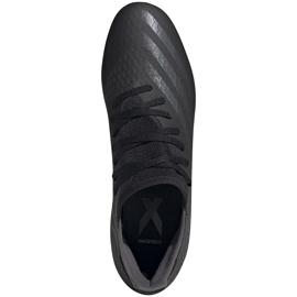 Buty piłkarskie adidas X GHOSTED.3 Fg EH2833 czarne czarne 1