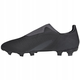 Buty piłkarskie adidas X GHOSTED.3 Ll Fg FW3541 czarne czarne 2