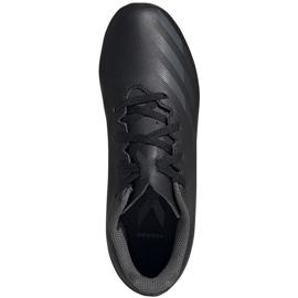 Buty piłkarskie adidas X GHOSTED.4 FxG Junior FW3546 czarne czarne 1