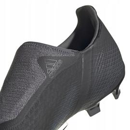 Buty piłkarskie adidas X GHOSTED.3 Ll Fg FW3541 czarne czarne 4