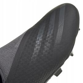 Buty piłkarskie adidas X GHOSTED.3 Ll Fg FW3541 czarne czarne 3