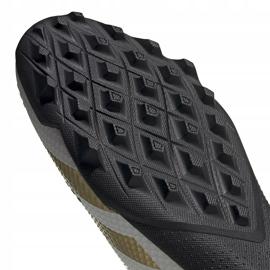 Buty piłkarskie adidas Predator 20.3 L Tf FW9189 białe biały, złoty, czarny 5