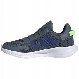 Buty dla dzieci adidas Tensaur Run K szare FV9444 2