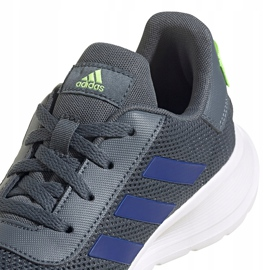 Buty dla dzieci adidas Tensaur Run K szare FV9444 3