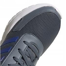 Buty dla dzieci adidas Tensaur Run K szare FV9444 4
