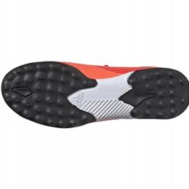 Buty piłkarskie adidas Nemeziz 19.3 Tf Jr EH0499 pomarańczowe pomarańczowe 6