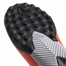 Buty piłkarskie adidas Nemeziz 19.3 Tf Jr EH0499 pomarańczowe pomarańczowe 5