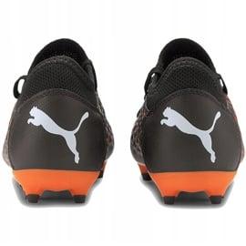 Buty piłkarskie Puma Future 6.4 Fg Ag Junior 106206 01 pomarańczowe 3