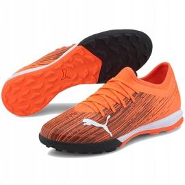 Buty piłkarskie Puma Ultra 3.1 Tt 106089 01 pomarańczowe pomarańczowe 2