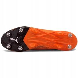 Buty piłkarskie Puma Ultra 1.1 MxSG 106076 01 pomarańczowe pomarańczowe 5