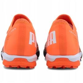 Buty piłkarskie Puma Ultra 3.1 Tt 106089 01 pomarańczowe pomarańczowe 3