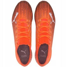 Buty piłkarskie Puma Ultra 1.1 MxSG 106076 01 pomarańczowe pomarańczowe 2