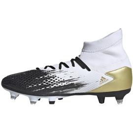 Buty piłkarskie adidas Predator 20.3 Sg FW9187 białe 2
