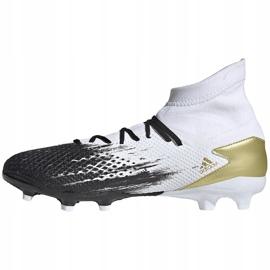 Buty piłkarskie adidas Predator 20.3 Fg FW9196 białe 2