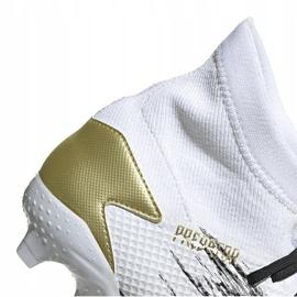 Buty piłkarskie adidas Predator 20.3 Fg FW9196 białe 4