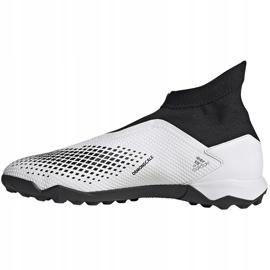Buty piłkarskie adidas Predator 20.3 Ll Tf FW9193 białe 2