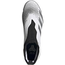 Buty piłkarskie adidas Predator 20.3 Ll Tf FW9193 białe 1