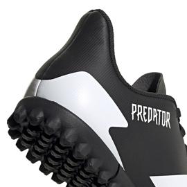Buty piłkarskie adidas Predator 20.4 Tf Junior FW9223 czarne czarne 4