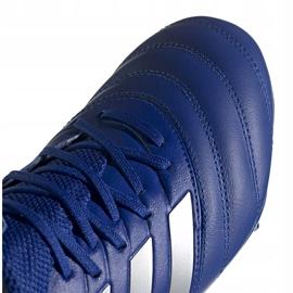 Buty piłkarskie adidas Copa 20.3 Fg EH1500 niebieskie granatowe 3