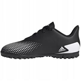 Buty piłkarskie adidas Predator 20.4 Tf Junior FW9223 czarne czarne 2