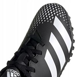 Buty piłkarskie adidas Predator 20.4 Tf Junior FW9223 czarne czarne 3