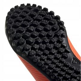 Buty piłkarskie adidas Nemeziz 19.4 Tf Jr pomarańczowe EH0503 5