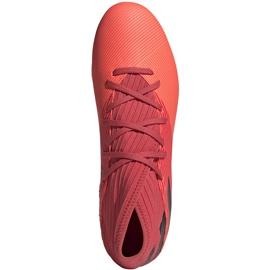 Buty piłkarskie adidas Nemeziz 19.3 Fg pomarańczowe EH0300 1