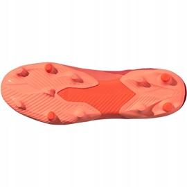 Buty piłkarskie adidas Nemeziz 19.3 Fg pomarańczowe EH0300 6