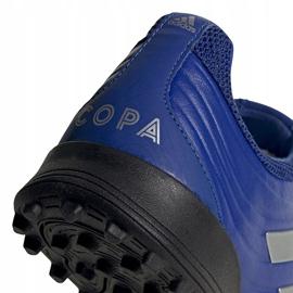 Buty piłkarskie adidas Copa 20.3 Tf niebieskie EH1490 5