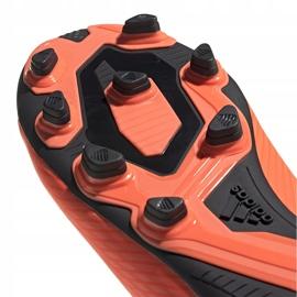 Buty piłkarskie adidas Nemeziz 19.4 FxG pomarańczowe EH0302 5