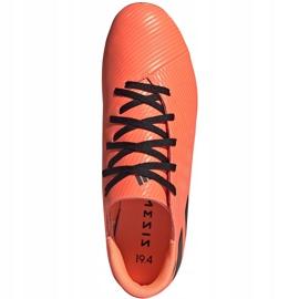 Buty piłkarskie adidas Nemeziz 19.4 FxG pomarańczowe EH0302 1