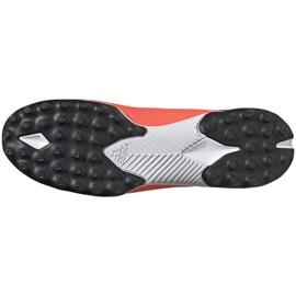 Buty piłkarskie adidas Nemeziz 19.3 Ll Tf pomarańczowe EH0277 6