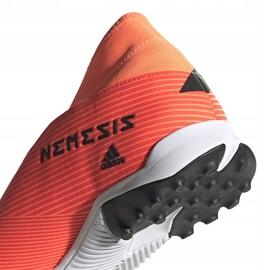 Buty piłkarskie adidas Nemeziz 19.3 Ll Tf pomarańczowe EH0277 4