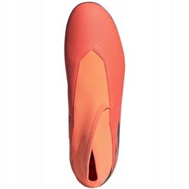Buty piłkarskie adidas Nemeziz 19.3 Ll Tf pomarańczowe EH0277 1
