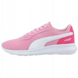 Buty dla dzieci Puma St Active Jr różowe 369069 14 1