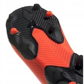 Buty piłkarskie adidas Nemeziz 19.3 Ll Fg Junior EH0488 pomarańczowe pomarańczowe 5