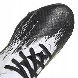 Buty piłkarskie adidas Predator 20.3 Tf Junior FW9220 białe 3