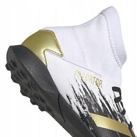 Buty piłkarskie adidas Predator 20.3 Tf Junior FW9220 białe 4