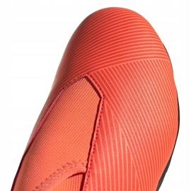 Buty piłkarskie adidas Nemeziz 19.3 Ll Fg Junior EH0488 pomarańczowe pomarańczowe 3