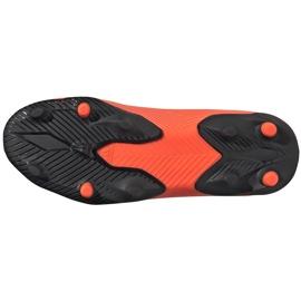 Buty piłkarskie adidas Nemeziz 19.3 Ll Fg Junior EH0488 pomarańczowe pomarańczowe 6