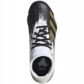 Buty piłkarskie adidas Predator 20.3 Tf Junior FW9220 białe 1